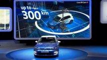VW e-golf debut Paris 2016