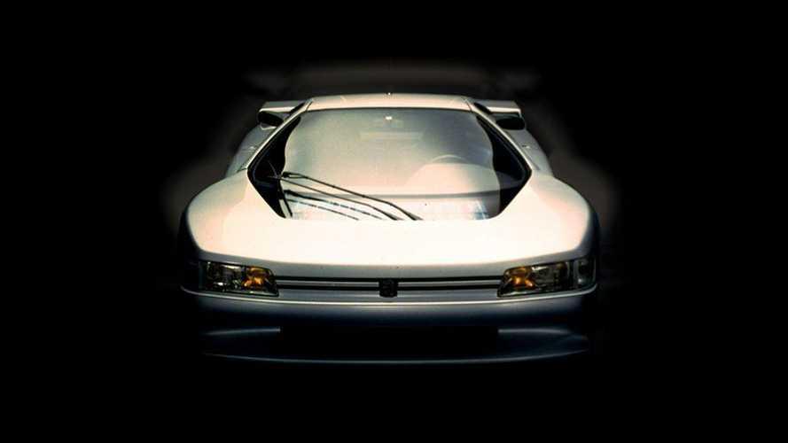 L'Oxia, la supercar de Peugeot qui filait à 350 km/h, en 1988