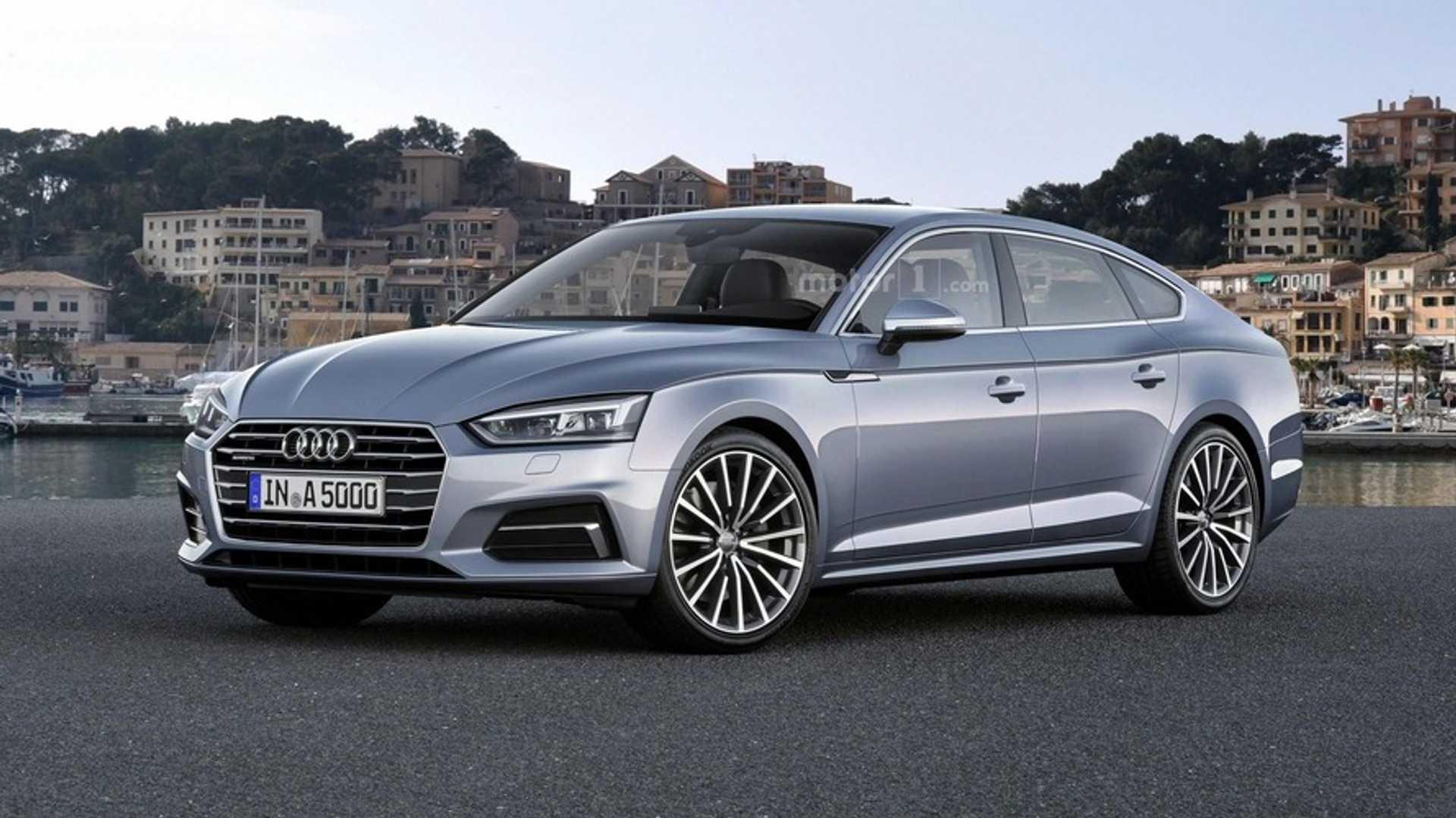 Audi A Sportback Render Previews Plausible Future - 2018 audi a5