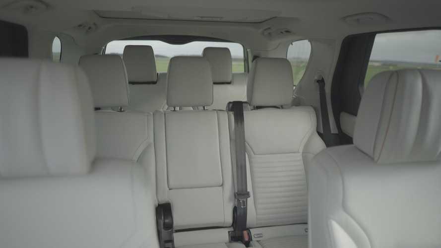 Land Rover Discovery Akıllı Koltuk Katlama özelliği