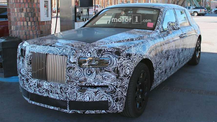 Rolls Royce Phantom 2018 - Spyshots dans le désert américain