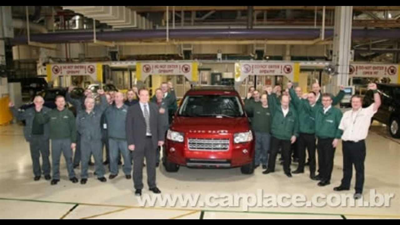 Land Rover Freelander 2 chega a marca de 100.000 unidades produzidas