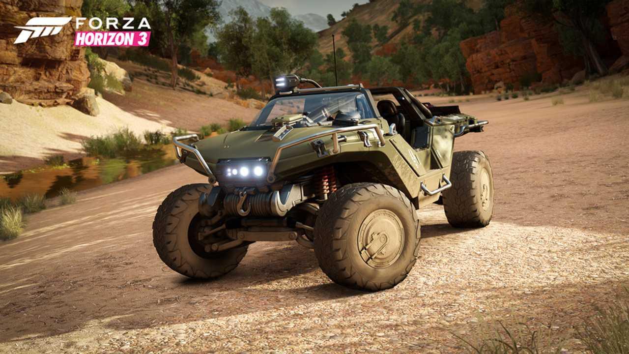 Halo Warthog in Forza Horizon 3