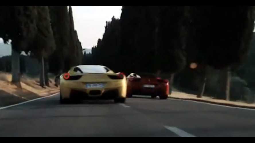 VÍDEO: Duas Ferraris 458 Italia desfilam por ruas europeias