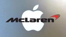 Apple McLaren logo birleştirmesi