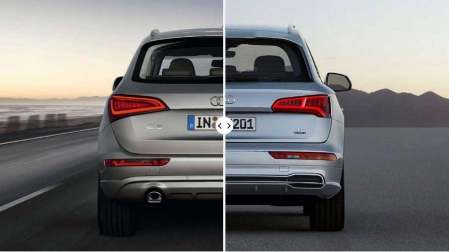 Le nouvel Audi Q5 face à l'ancien !