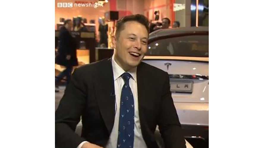 Video: Tesla's Elon Musk Talks Top Gear With BBC