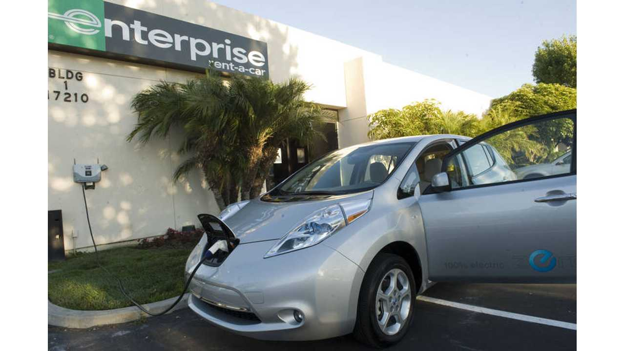 Electric Rental Vehicles Often Swapped For ICE; Range Anxiety Cited as Issue
