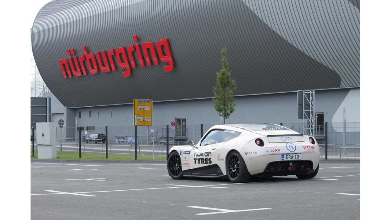Electric RaceAbout Vastly Improves Its Time at Nürburgring Nordschleife (w/video)