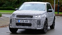 Land Rover Discovery Sport facelift spy shots