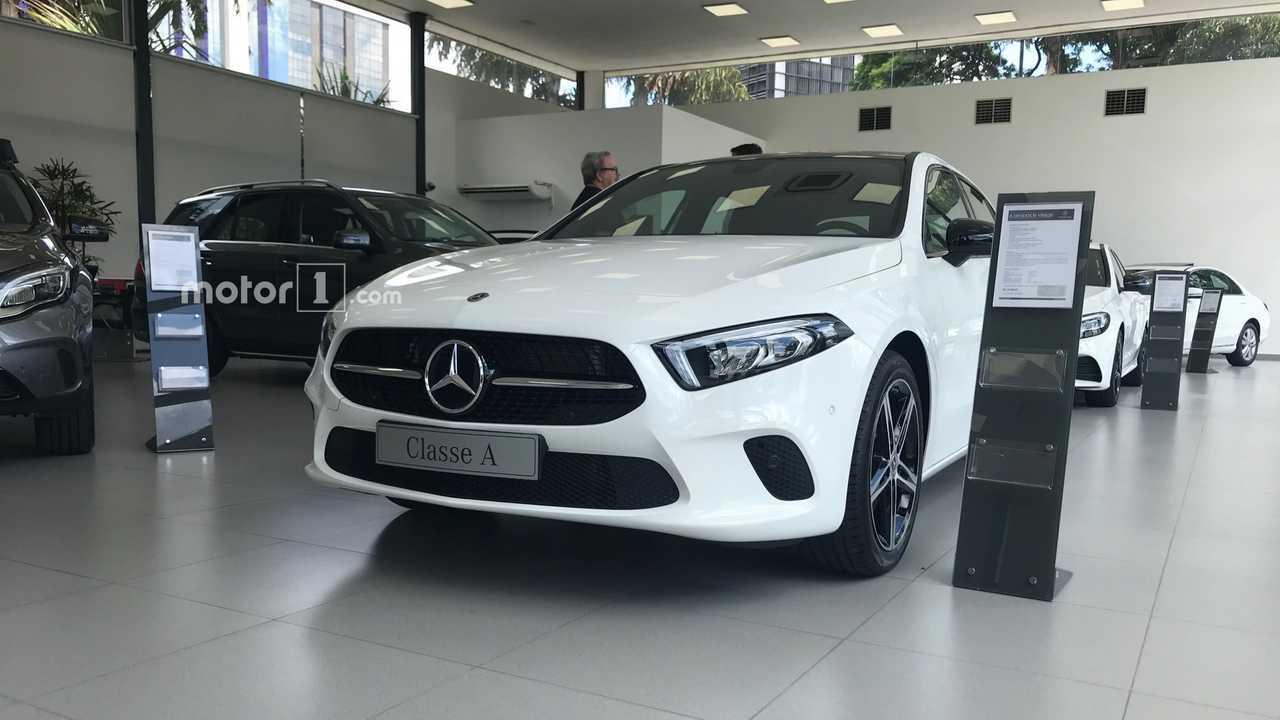 Mercedes-Benz Classe A na concessionária