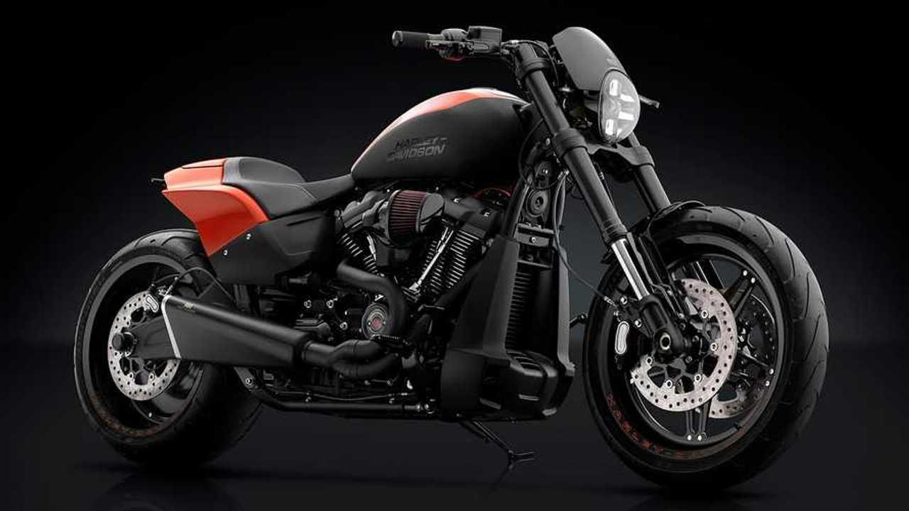 Softail FXR 114 de Rizoma Harley-Davidson