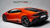 Lamborghini Huracan 2019 Facelift Teaser