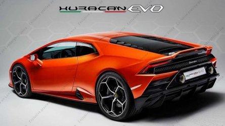 Kiszivárgott fotón a frissítésen átesett Lamborghini Huracán