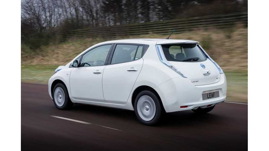 Second Generation* Nissan LEAF Featured In Fully Charged