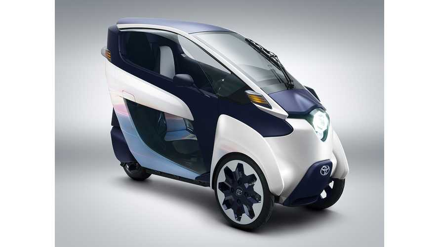 Toyota i-ROAD Implemented in Ha:mo Car Sharing Service in Toyota City (Video)