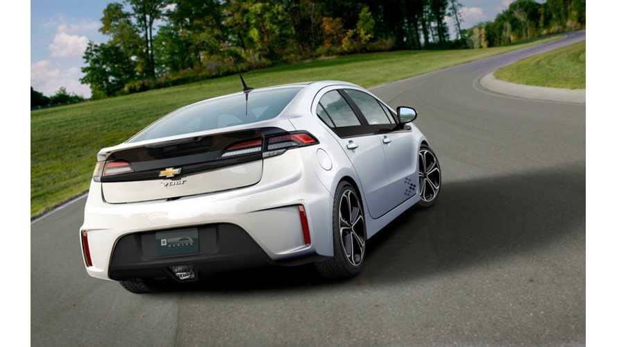 Redesigned, 2nd Gen 2016 Chevrolet Volt To Debut Next Year