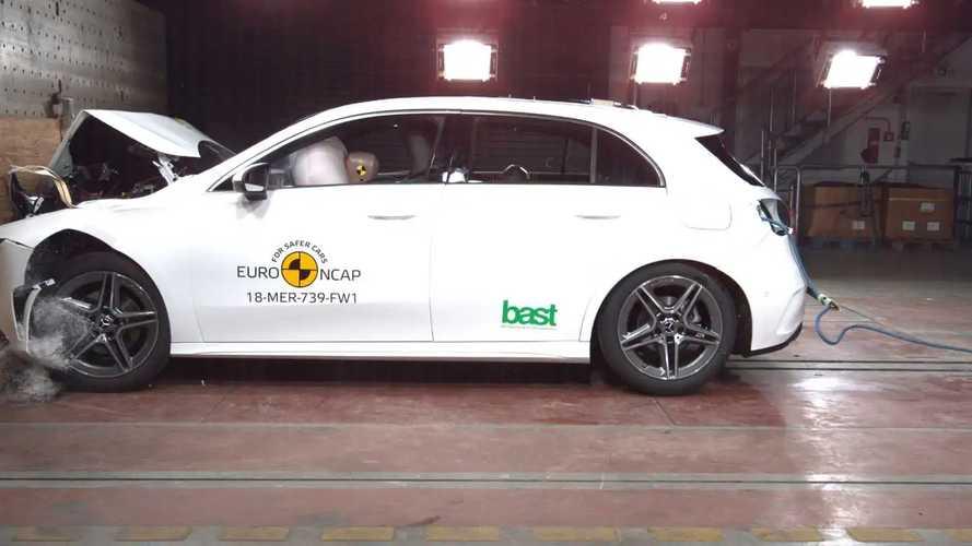 Crash test Euro NCAP 2018, la più sicura è la Mercedes Classe A