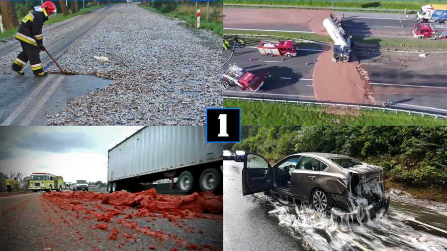 11 Crazy Highway Spills That Are Weird, Gross, And Hilarious