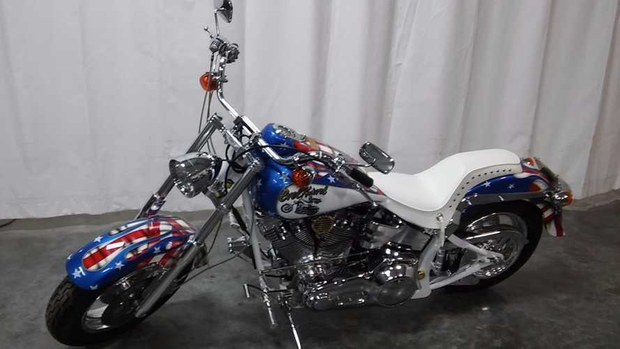 Rare 1998 CMC Evel Knievel Limited Edition Cruiser For Sale!