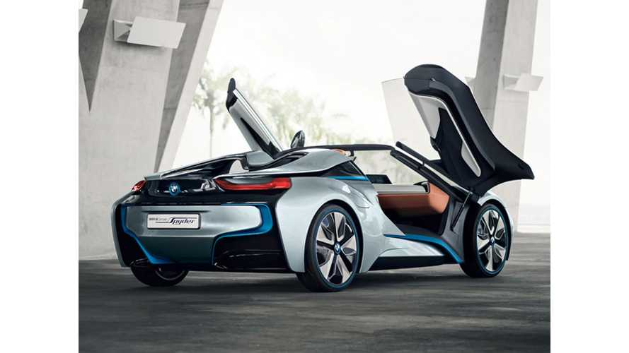 BMW i8 Spyder At LA Auto Show In November, Maybe Production Version