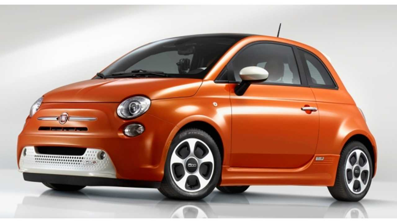 Fiat 500e Rated at 87 Miles of Electric Range