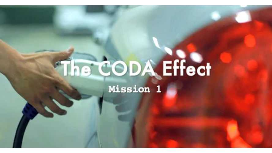 CODA Imagines Grass Stations In Promoting Electric Sedan (Video)