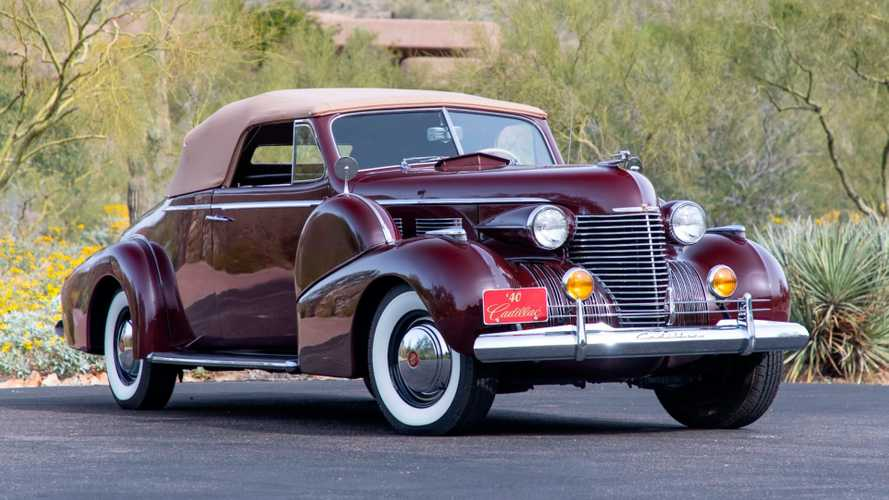 Rare Fleetwood Cadillac Series 75 Convertible Heads To Auction
