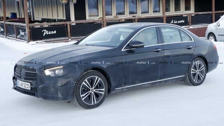 2020 Mercedes E-Class Saloon spied inside and out