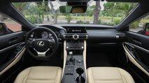 Lexus RC Hybrid restyling, test drive