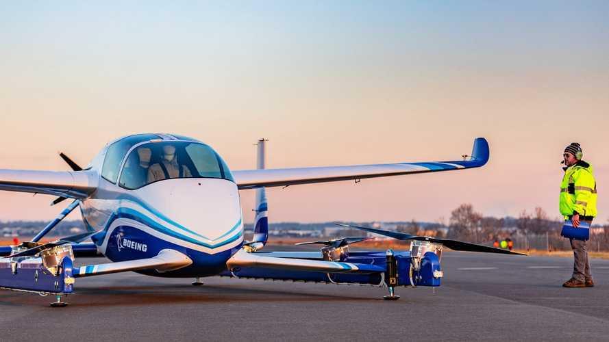 Boeing'in uçan otomobili ilk testini tamamladı
