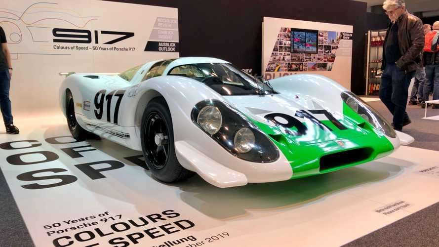 Restored Porsche 917 No.1 Makes Its Debut At Retro Classics