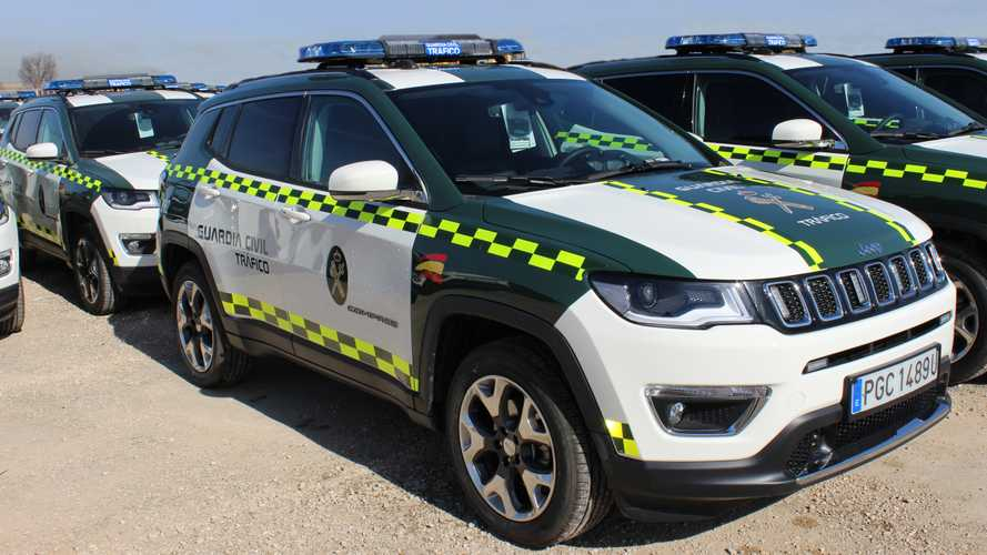 La Guardia Civil estrena una flota de Jeep Compass