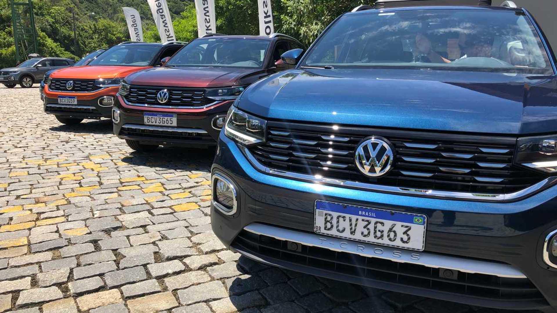Primeiras Impressões VW T-Cross 250 TSI Highline: Base de Polo, alma e (preço) de Golf Volkswagen-t-cross-highline-250-tsi