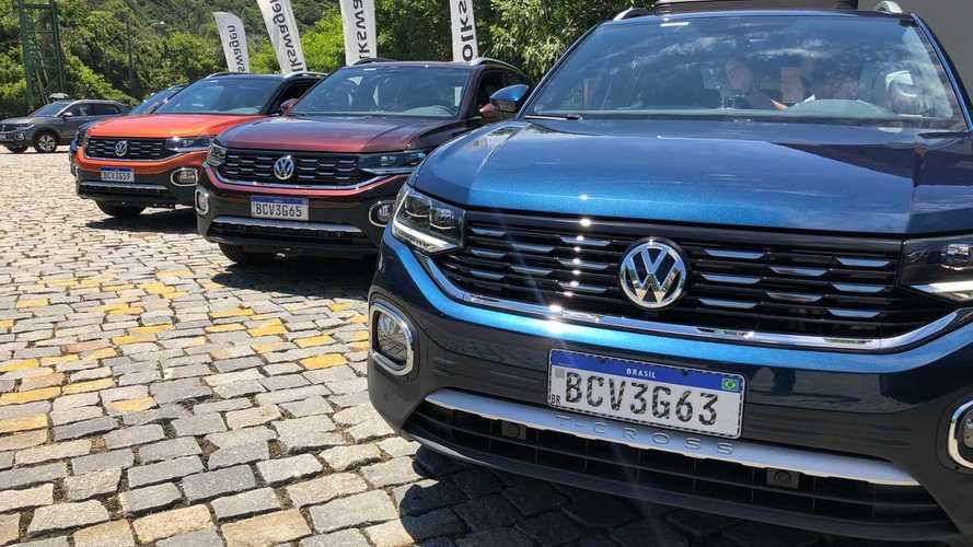 VW T-Cross começa carreira com vendas abaixo do esperado