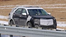 Refreshed Chevy Equinox Spy Shots