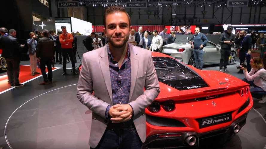 2020 Ferrari F8 Tributo: Live from the Geneva Motor Show