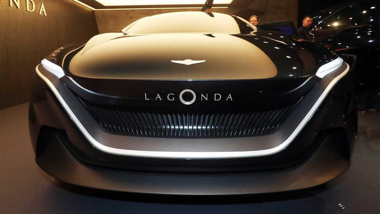 Aston Martin Lagonda All-Terrain Concept: Geneva Live