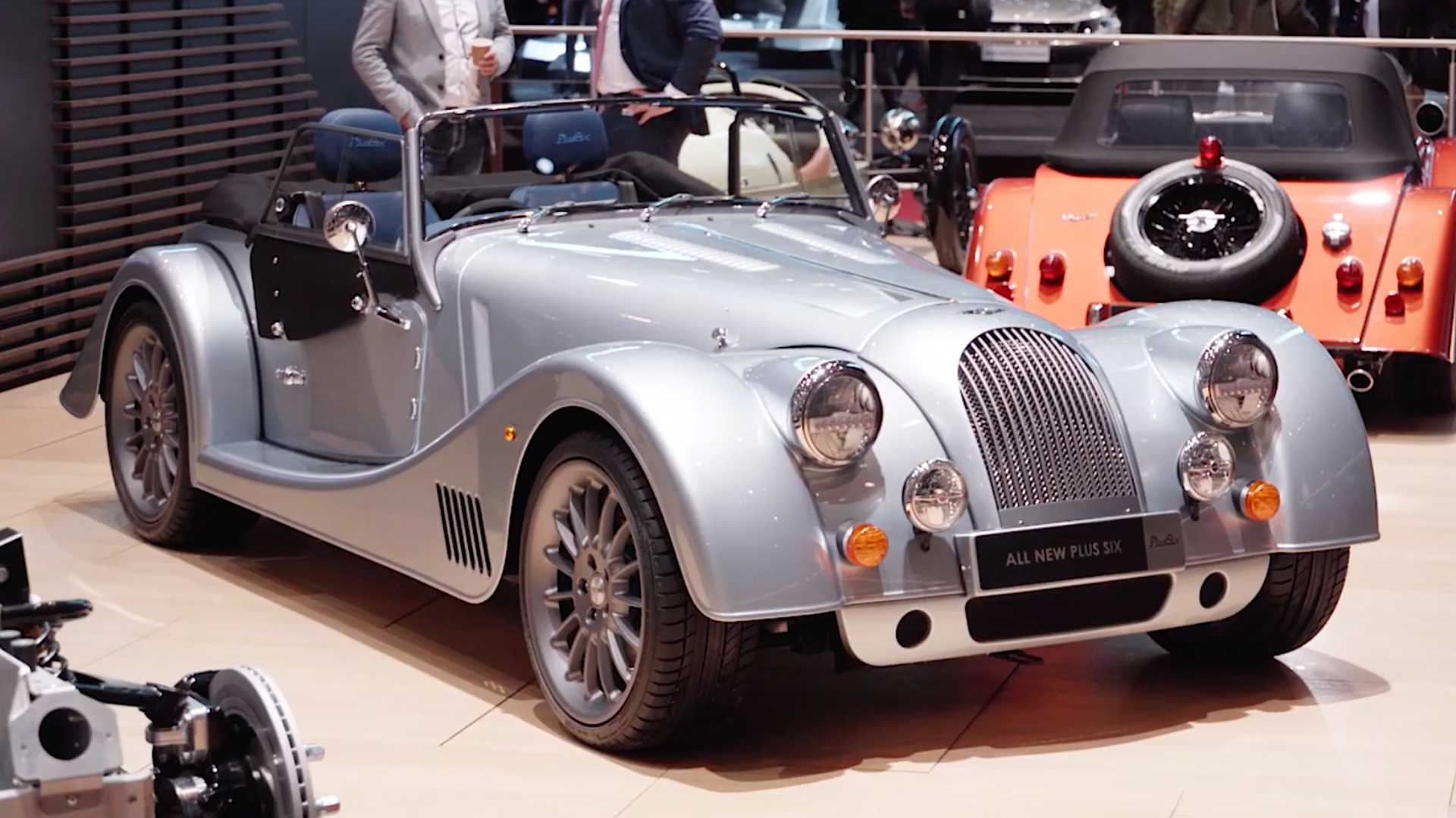Morgan Plus Six Debuts With New Platform, 335-HP BMW Inline-Six