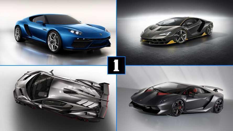 DIAPORAMA - Les Lamborghini rares et uniques