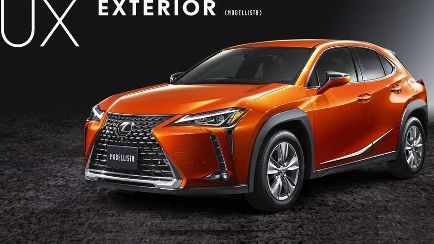 Lexus UX By Modellista Gets Look-At-Me Body Kit