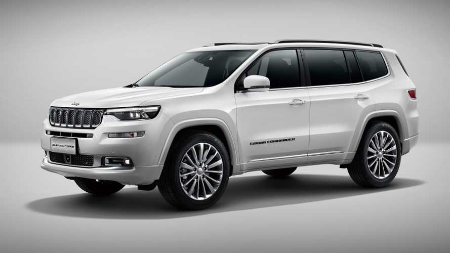 Jeep Grand Commander pode virar o novo Dodge Journey