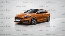 Ford Focus ST 2019 render