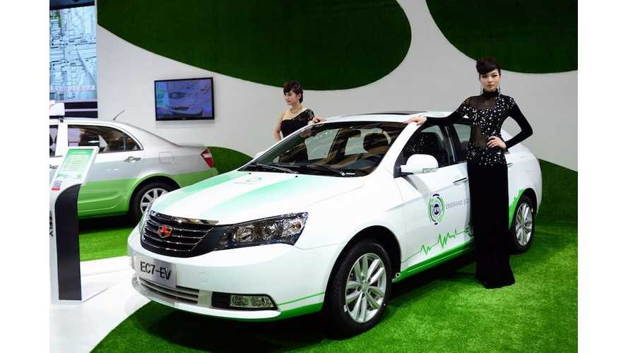Detroit Electric Teams With Geely to Develop EVs; EC7-EV Detroit Electric–Technology Sedan Coming in 2014