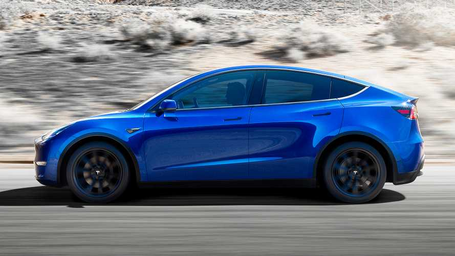 Tesla Model Y Now On Display For Viewing