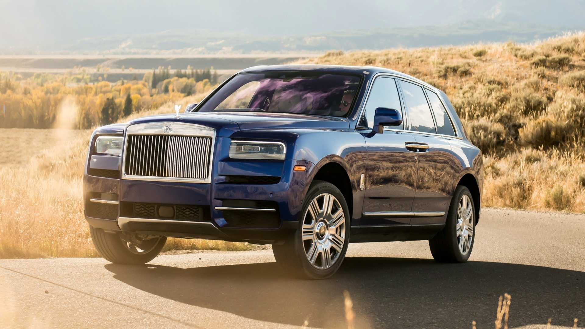 no one has bought a base rolls-royce cullinanyet