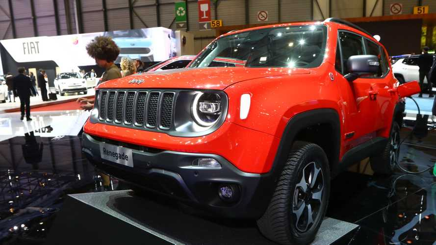 Jeep Renegade & Compass PHEV au salon de Genève