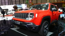 Jeep Renegade, Compass PHEV at the 2019 Geneva Motor Show