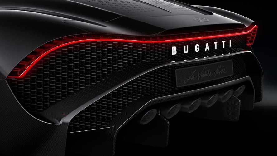 Chiron alá pozicionált elektromos modellt modellt készítene a Bugatti