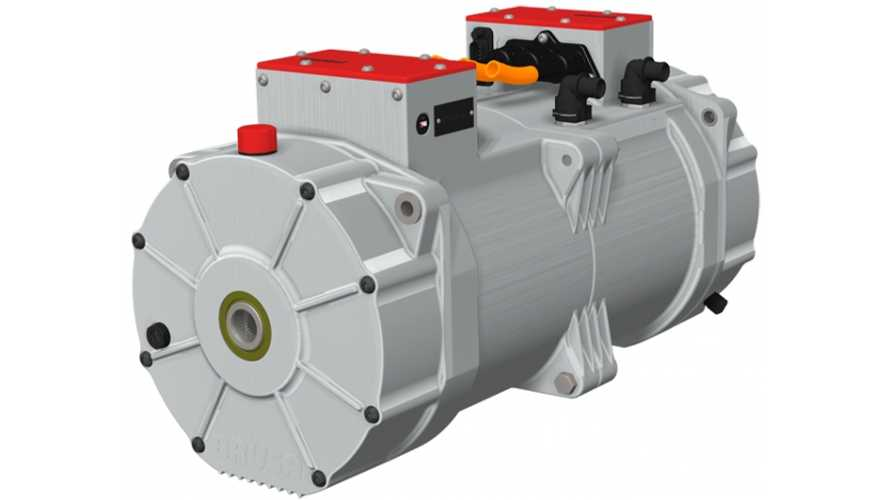"BRUSA Presents ""Unbeatable"" Compact Double Traction Drive Electric Motor With 402 HP; Weighs Less Than 300 Pounds"